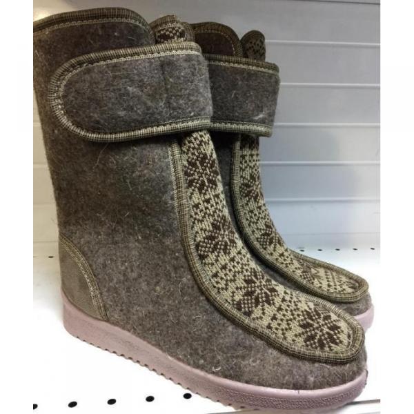 Фото Зимняя обувь, Женская Полусапожки 0007 оптом