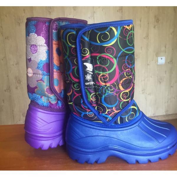 Фото Зимняя обувь, Женская Ботинки на молнии 0027. оптом