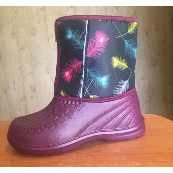 Фото Зимняя обувь, Женская Аляска на замке (