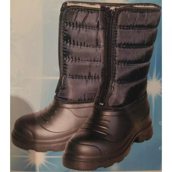 Фото Зимняя обувь, Женская Аляска ЭВА на молнии (
