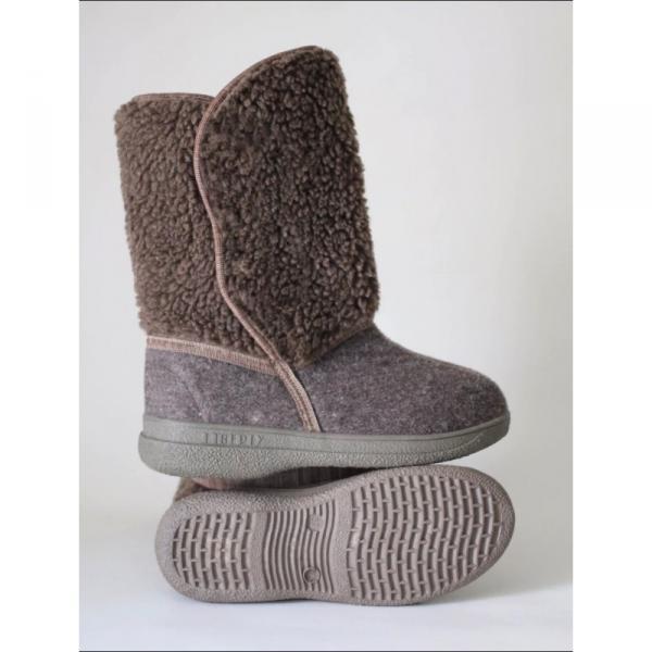 Фото Зимняя обувь, Женская Сапоги с мехом 0018 оптом