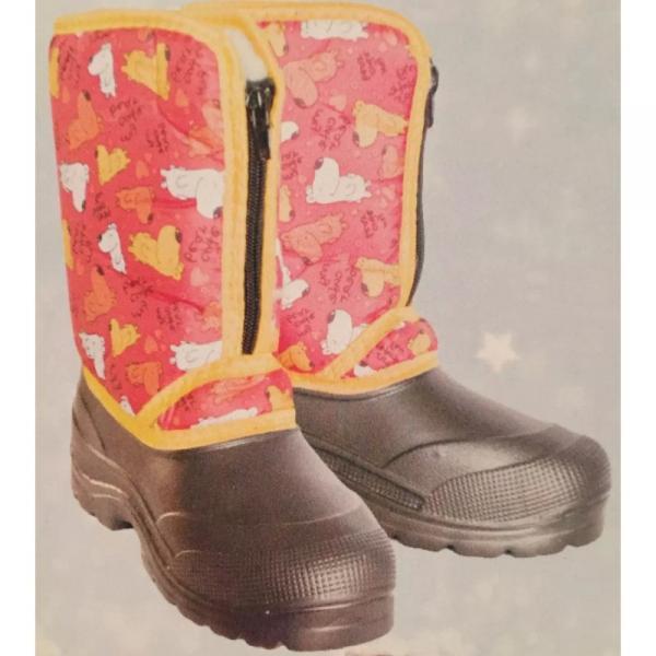 Фото Зимняя обувь, Детская Аляска ЭВА на молнии (