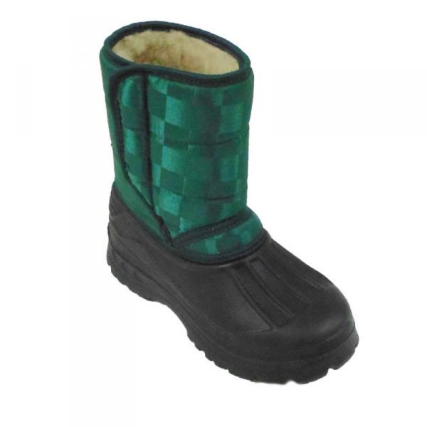 Фото Зимняя обувь, Детская Аляска на липучке (