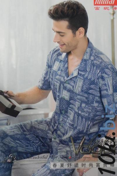 Мужская пижама Funilai | артикул 7492 Мужская домашняя одежда на рынке Восток в Новосибирске