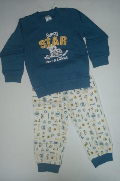 Пижама для мальчика  | артикул B-6889