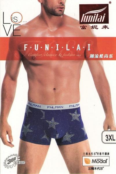 Мужские боксеры Funilai | артикул 0744
