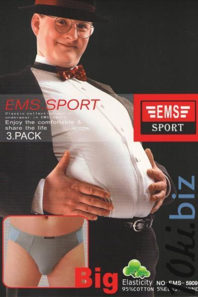 Плавки мужские EMS | артикул 5909 Мужские трусы на рынке Восток в Новосибирске