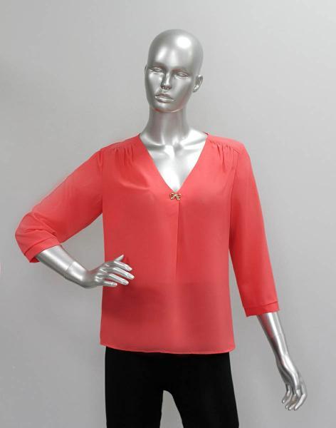 Блуза A59 Однотонные
