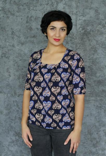 Блуза А48 Узоры