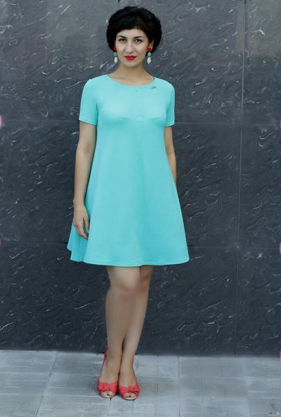 Платье П65 Мята