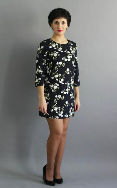 Платье П58 Цветы