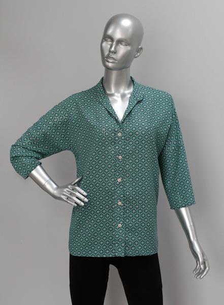 Рубашка А64 Морская волна