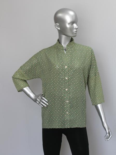 Рубашка А64  Малахит