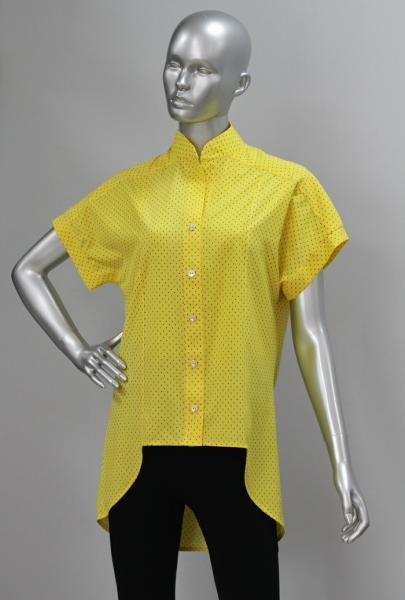 Рубашка А63 Желтый