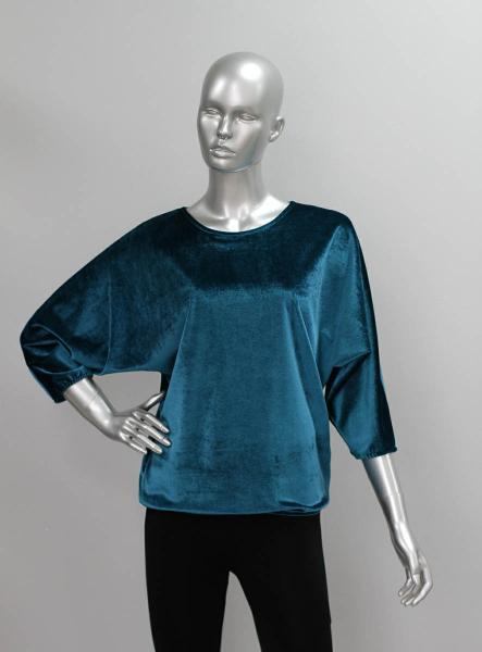 Блуза ТР99.1 Морская волна