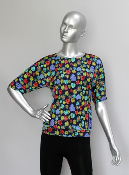 Блуза ТР76 Сердечки