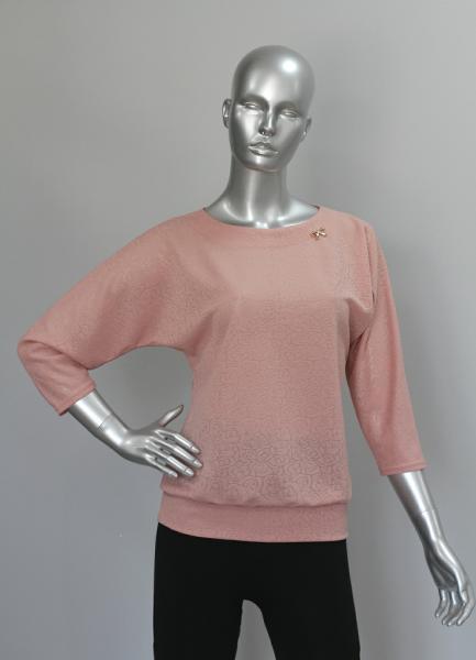Блуза ТР47.1 Розочки ажур