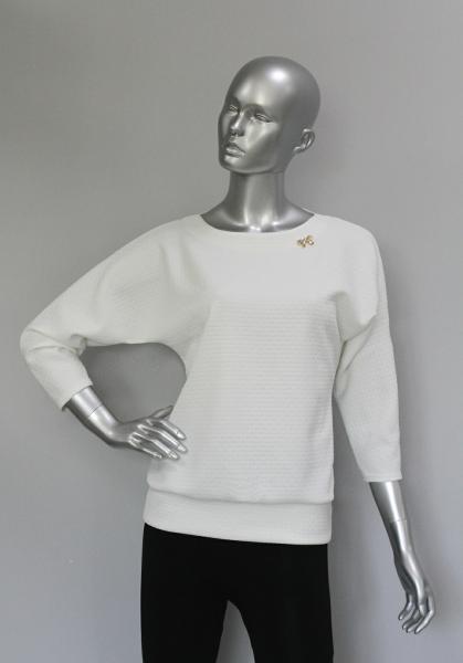 Блуза ТР47.1 Фактура/цветочки