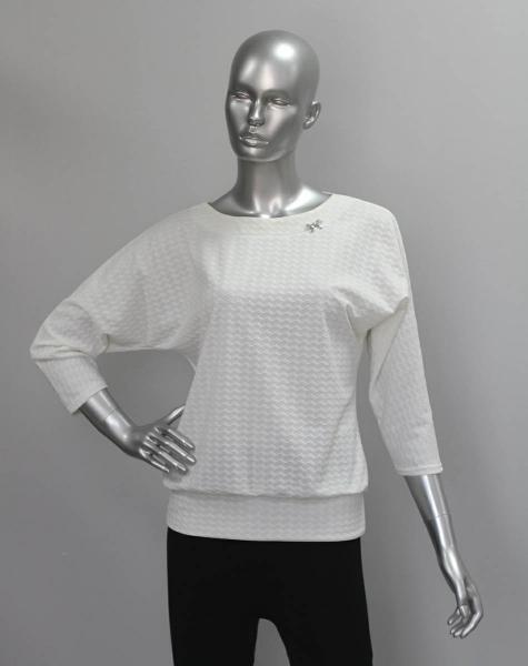 Блуза ТР47.1 Молочная лапка