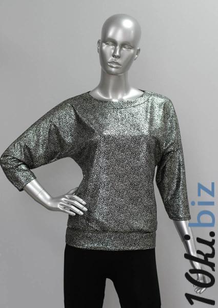 Блуза ТР47.1 Черное серебро Блузки и туники женские на рынке Восток в Новосибирске