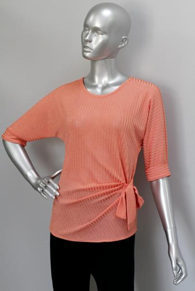 Блуза ТР116 Яркий персик