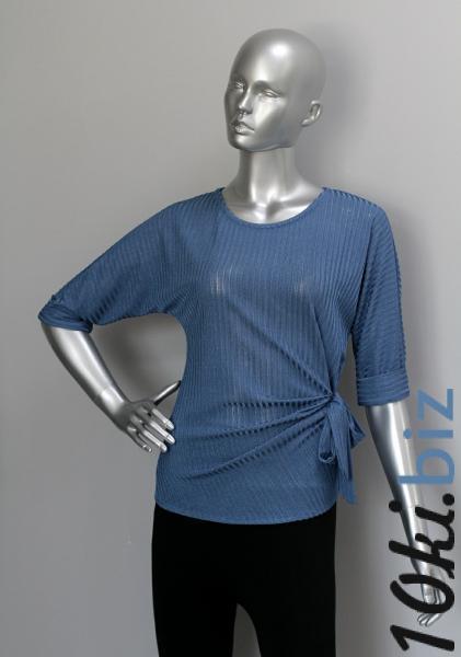 Блуза ТР116 Синий Блузки и туники женские на рынке Восток в Новосибирске