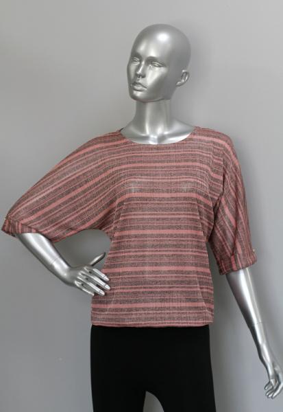 Блуза ТР114 Розовая карамель