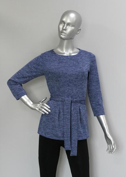 Блуза ТР110 Синяя дымка