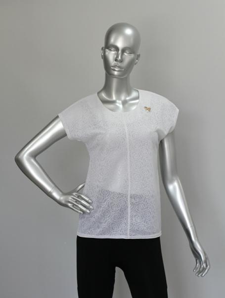 Блуза ТР106 Белый/Молочный