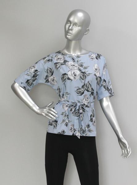 Блуза A54 Розы/2 вида