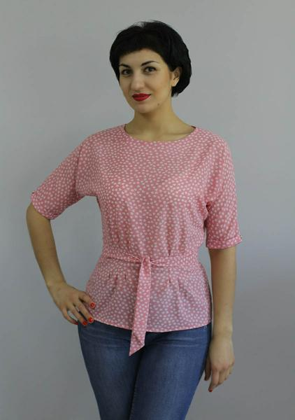 Блуза A54 Цветочки