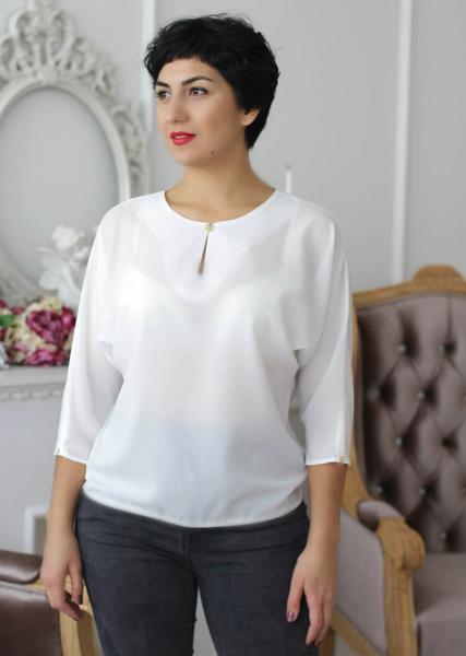 Блуза A50.1 Однотонные