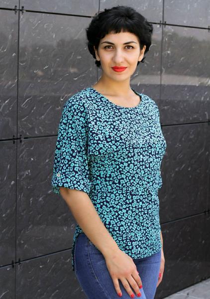 Фото Блузы Блуза А39 Полянка