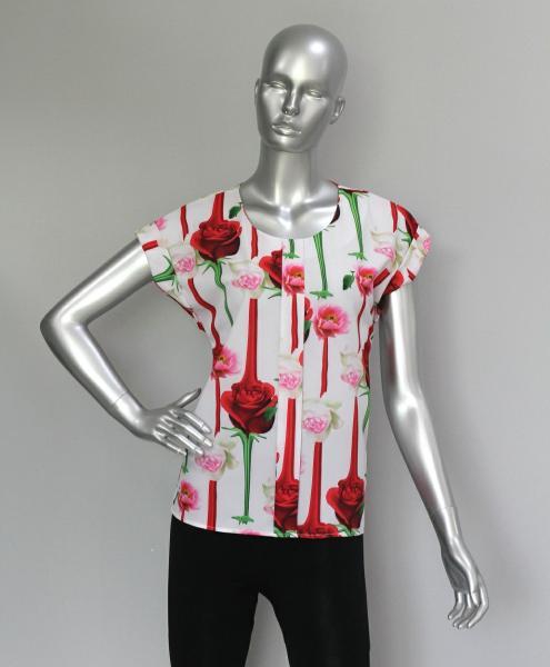 Фото Блузы Блуза A38 Розы этюд
