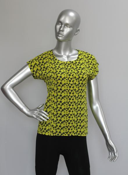 Фото Блузы Блуза A38 Полянка на желтом