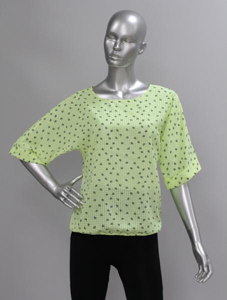 Фото Блузы Блуза A36.1 Сердечки/лимон