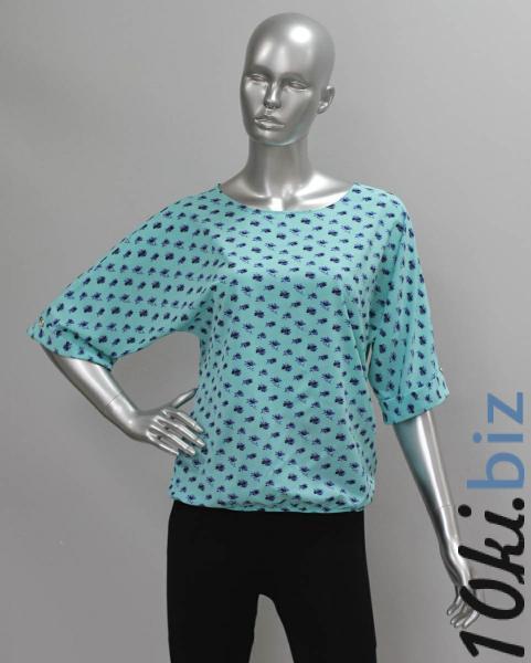 Блуза A36.1 Васильки Рубашки женские на рынке Восток в Новосибирске
