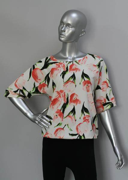 Фото Блузы Блуза A36.1 Тюльпаны