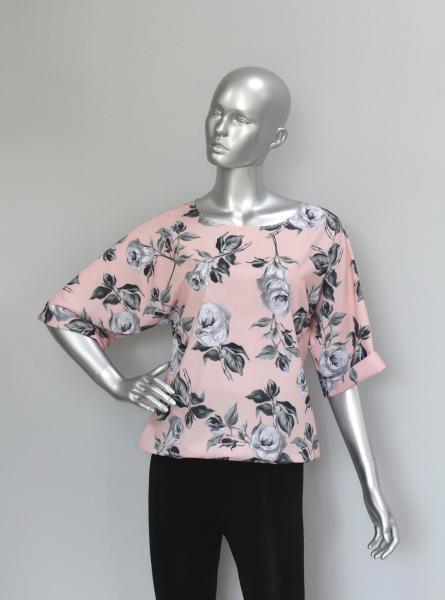 Фото Блузы Блуза A36.1 Розы/Персик