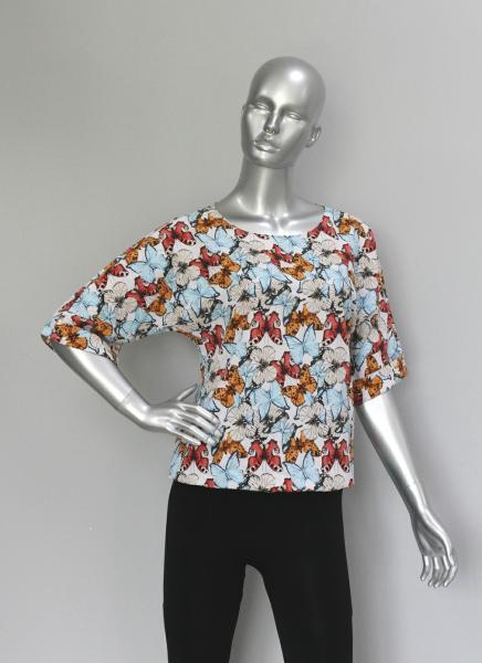 Фото Блузы Блуза A36.1 Бабочки