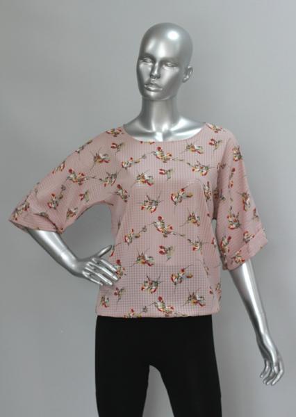 Фото Блузы Блуза A36.1 Розовая дымка