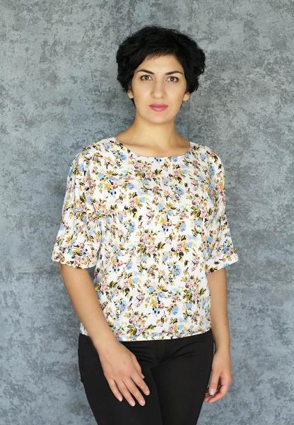 Фото Блузы Блуза A36.1 Розочки
