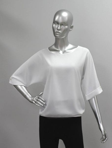 Фото Блузы Блуза A36.1 Однотонные