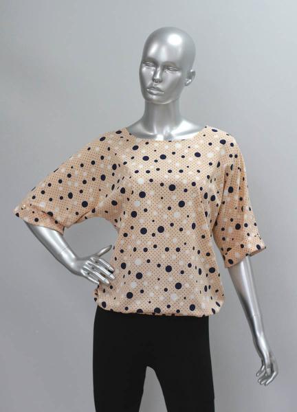 Фото Блузы Блуза A36.1 Горох