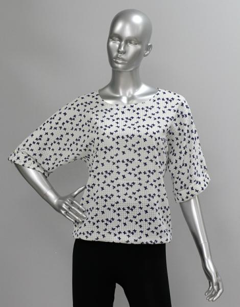 Блуза A36.1 Бабочки