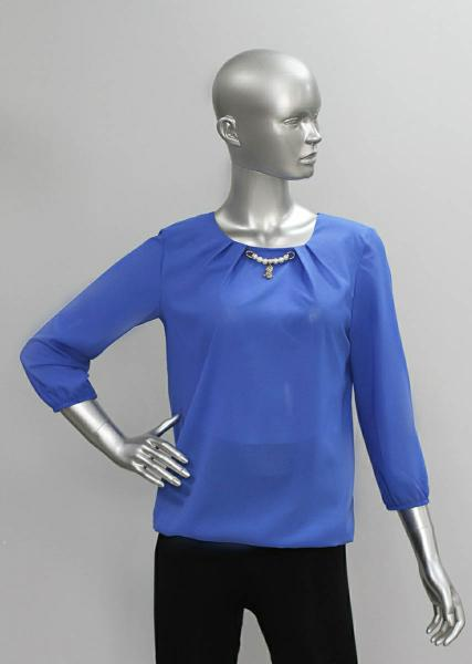 Фото Блузы Блуза А61 Однотонные