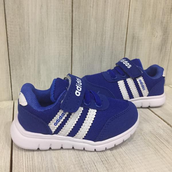Кроссовки летние детские Adidas синие