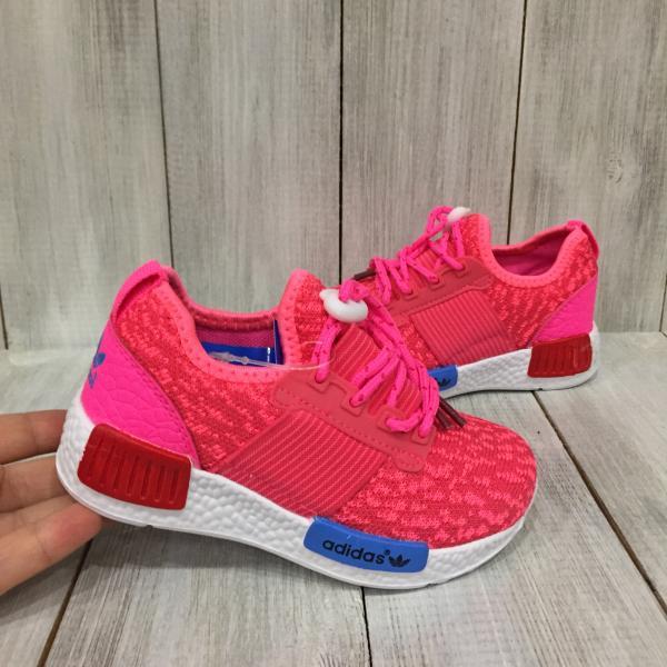 Кроссовки летние детские Adidas розовые
