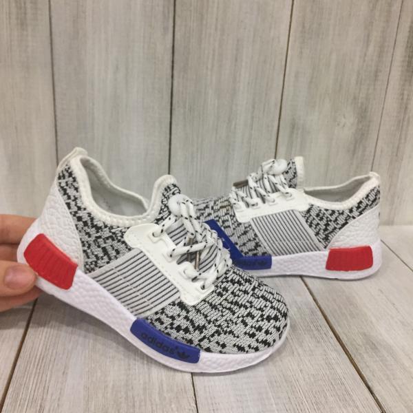 Кроссовки летние детские Adidas белые