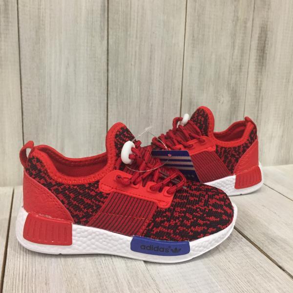 Кроссовки летние детские Adidas красные